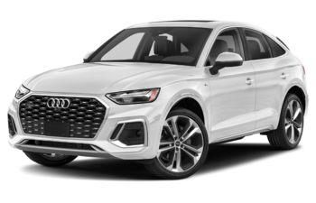 2021 Audi Q5 - Glacier White Metallic