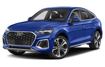 2021 Audi Q5 - Ultra Blue Metallic