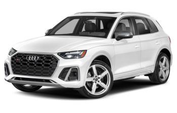 2021 Audi SQ5 - Glacier White Metallic