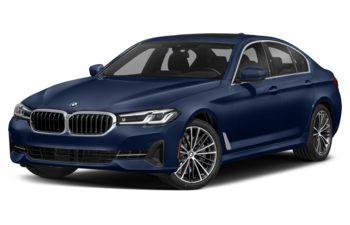 2021 BMW 540 - Tanzanite Blue Metallic