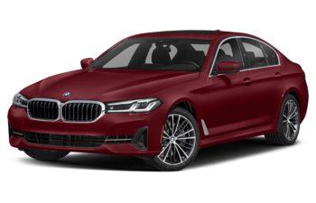 2021 BMW 540 - Aventurine Red Metallic