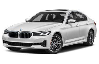 2021 BMW 540 - Brilliant White Metallic