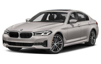 2021 BMW 530 - Glacier Silver Metallic