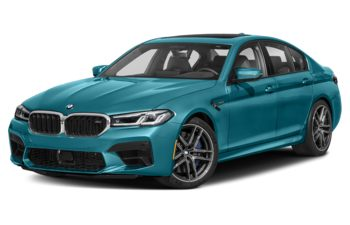 2021 BMW M5 - Marina Bay Blue Metallic