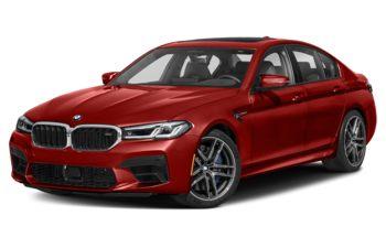 2021 BMW M5 - Tanzanite Blue Metallic