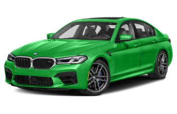 2021 BMW M5 - Brilliant White Metallic