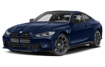 2021 BMW M4 - Tanzanite Blue Metallic
