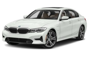 2021 BMW 330e - Alpine White