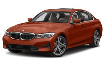 2021 BMW 330e - Sunset Orange Metallic
