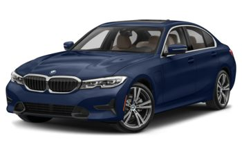 2021 BMW 330e - Tanzanite Blue Metallic