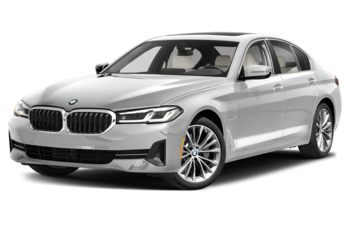 2021 BMW 530e - Mineral White Metallic