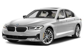 2021 BMW 530e - Mineral White Metallic