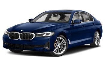 2021 BMW 530e - Tanzanite Blue Metallic