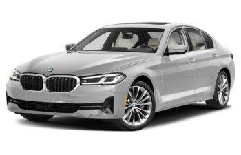 2021 BMW 530e - Frozen Brilliant White
