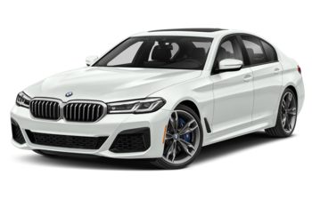 2021 BMW M550 - Alpine White