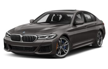 2021 BMW M550 - Bernina Grey Amber Metallic