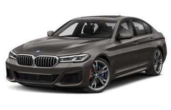 2021 BMW M550 - Bernina Grey Amber Metallic