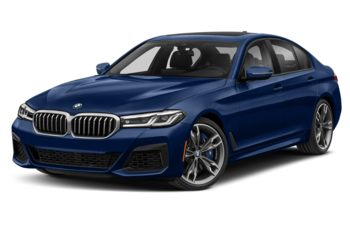 2021 BMW M550 - Tanzanite Blue Metallic