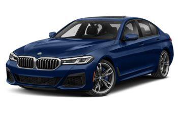 2021 BMW M550 - Tanzanite Blue Metallic