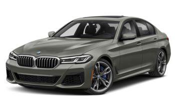 2021 BMW M550 - Brilliant White Metallic