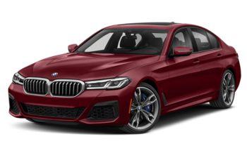 2021 BMW M550 - Frozen Cashmere Silver