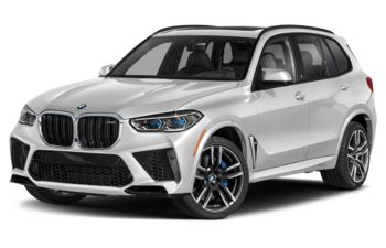 2021 BMW X5 M - Mineral White Metallic