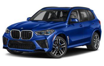 2021 BMW X5 M - Marina Bay Blue Metallic