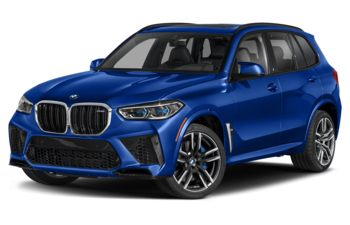 2021 BMW X5 M - Avus Blue