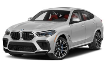 2021 BMW X6 M - Mineral White Metallic
