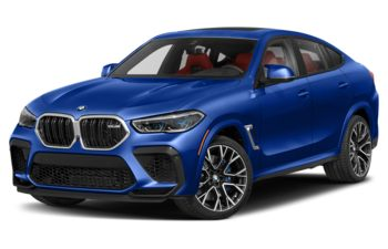 2021 BMW X6 M - Marina Bay Blue Metallic