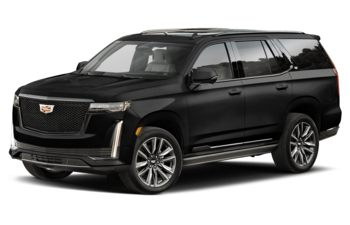 2021 Cadillac Escalade - Black Raven