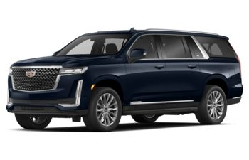 2021 Cadillac Escalade ESV - Dark Moon Blue Metallic