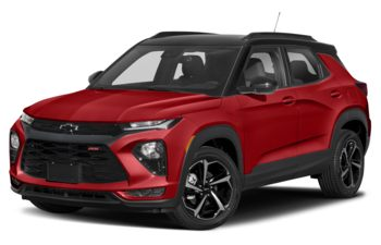 2021 Chevrolet TrailBlazer - Scarlet Red Metallic