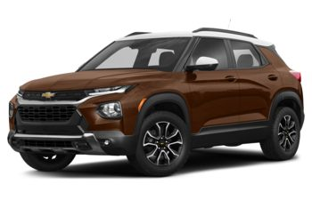 2021 Chevrolet TrailBlazer - Dark Copper Metallic