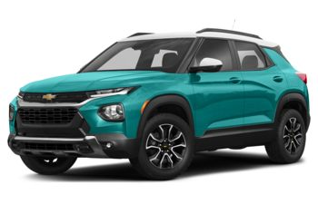 2021 Chevrolet TrailBlazer - Oasis Blue