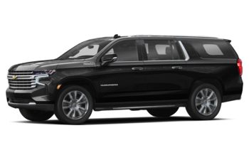 2021 Chevrolet Suburban - Black
