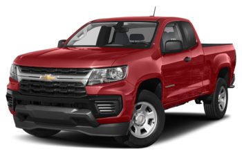 2021 Chevrolet Colorado - Cherry Red Tintcoat