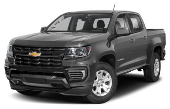 2021 Chevrolet Colorado - Satin Steel Metallic