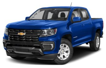 2021 Chevrolet Colorado - Bright Blue Metallic