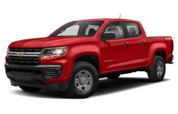 2021 Chevrolet Colorado - Cherry Red Tintcoat