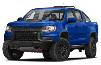 2021 Chevrolet Colorado - Bright Blue Metallic