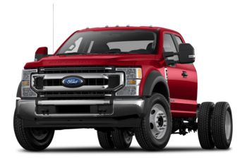2020 Ford F-350 Chassis - Vermillion Red