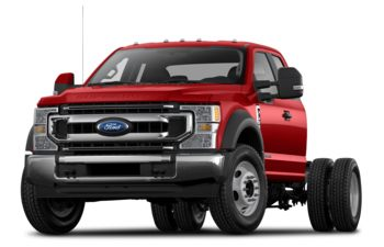2020 Ford F-350 Chassis - Race Red