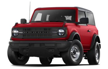 2021 Ford Bronco - Rapid Red Metallic Tinted Clearcoat