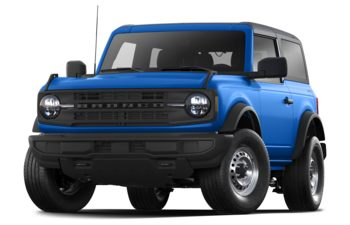 2021 Ford Bronco - Velocity Blue Metallic