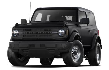 2021 Ford Bronco - Shadow Black
