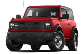 2021 Ford Bronco - Race Red