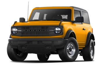 2021 Ford Bronco - Cyber Orange Metallic Tri-Coat