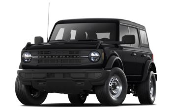 2021 Ford Bronco - Shadow Black