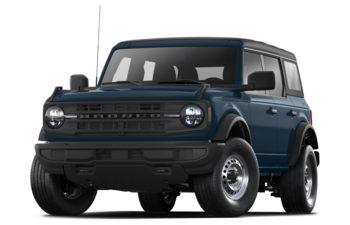 2021 Ford Bronco - Antimatter Blue Metallic